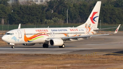 A picture of B1792 - Boeing 73789P - China Eastern Airlines - © Jerry_Hammer