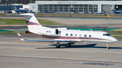 N511AK - Gulfstream G450 - Private