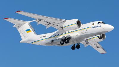 UR-AWB - Antonov An-74TK-300D - Ukraine - Government