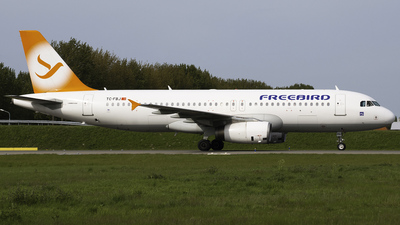 TC-FBJ - Airbus A320-232 - Freebird Airlines