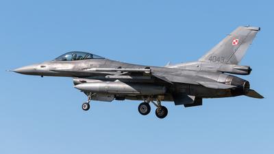4043 - Lockheed Martin F-16C Fighting Falcon - Poland - Air Force