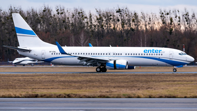SP-ENL - Boeing 737-8CX - Enter Air