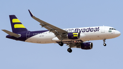A picture of HZFAF - Airbus A320214 - Flyadeal - © AirlinerSpotter