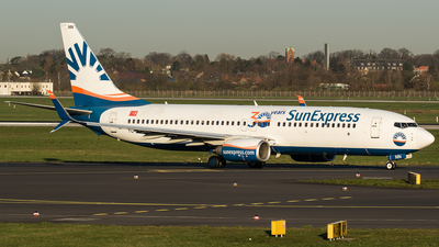 A picture of TCSNN - Boeing 7378HC - SunExpress - © Oliver Sänger