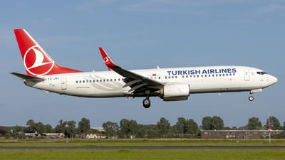 A picture of TCJVL - Boeing 7378F2 - Turkish Airlines - © Kris Van Craenenbroeck