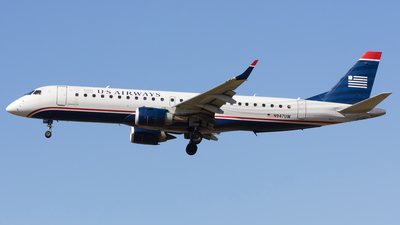 N947UW - Embraer 190-100IGW - US Airways
