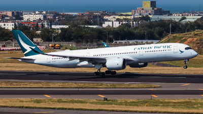A picture of BLRV - Airbus A350941 - Cathay Pacific - © Jhang yao yun