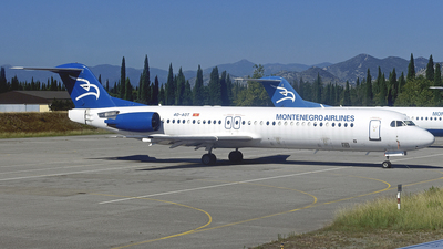 4O-AOT - Fokker 100 - Montenegro Airlines