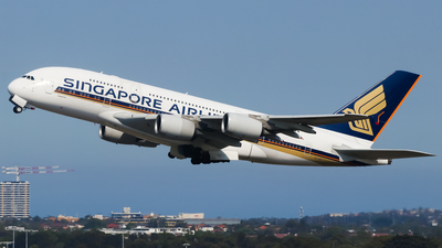 9V-SKR - Airbus A380-841 - Singapore Airlines