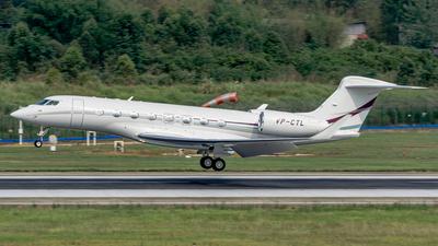 VP-CTL - Gulfstream G650ER - Private