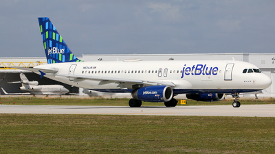 A picture of N634JB - Airbus A320232 - JetBlue Airways - © Brian T Richards