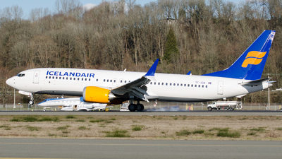 A picture of TFICO - Boeing 737 MAX 8 - Icelandair - © PrestonFiedler