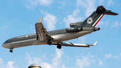 XC-MPF - Boeing 727-264(Adv)(F) - Mexico - Guardia Nacional