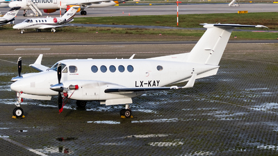 LX-KAY - Beechcraft B200GT Super King Air - Private