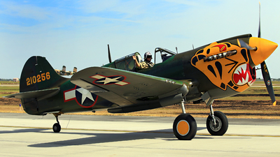 N401WH - Curtiss P-40K Warhawk - Private