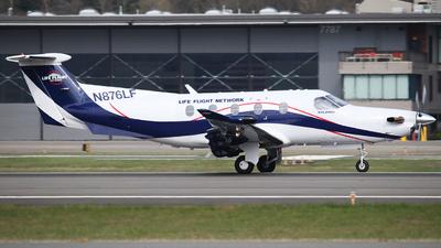 N876LF - Pilatus PC-12/47E - Life Flight Network