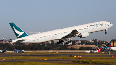 A picture of BHNP - Boeing 777367 - Cathay Pacific - © Mark H