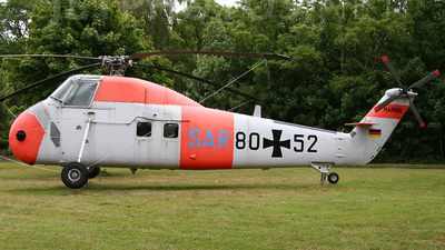 80-52 - Sikorsky H-34G - Germany - Navy