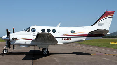 LV-BRS - Beechcraft E90 King Air - Private
