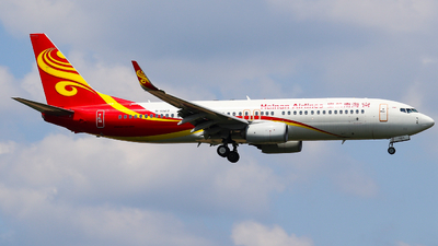 A picture of B1929 - Boeing 73784P - Hainan Airlines - © AGUIJUN-Lei