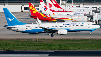 A picture of B5706 - Boeing 73785C - Xiamen Air - © AndySpotter