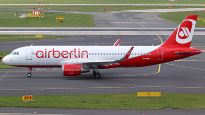 D-ABNY - Airbus A320-214 - Air Berlin