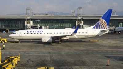 A picture of N27205 - Boeing 737824 - United Airlines - © Marlon Gomez Thompson