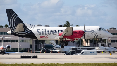 N344AG - Saab 340B - Silver Airways