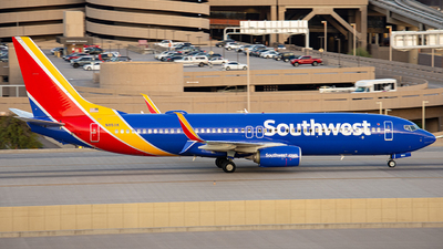 A picture of N8511K - Boeing 7378H4 - Southwest Airlines - © Alexander Owen