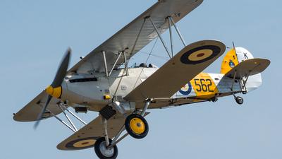 G-BURZ - Hawker Nimrod II - Private