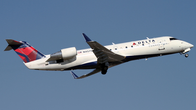 N457SW - Bombardier CRJ-200ER - Delta Connection (SkyWest Airlines)