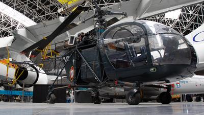 05 - Aérospatiale AS 313B Alouette II - France - Air Force