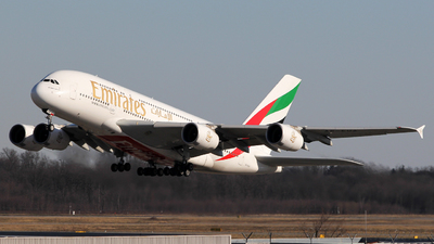 A picture of A6EUA - Airbus A380861 - Emirates - © Luca Gussoni