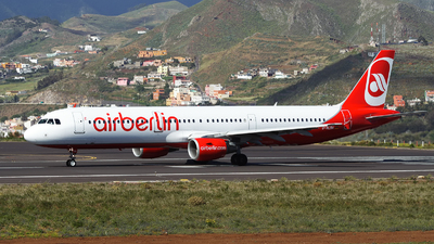 D-ALSA - Airbus A321-211 - Air Berlin