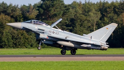 30-23 - Eurofighter Typhoon EF2000 - Germany - Air Force