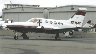 N2744X - Cessna 414A Chancellor - Private