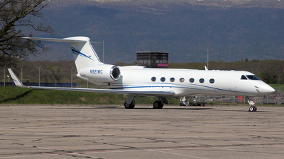 N921WC - Gulfstream G550 - Private