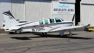 N70HC - Beechcraft A36 Bonanza - Private