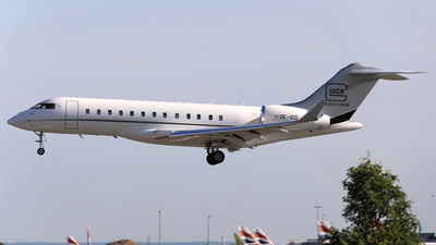 OE-IGG - Bombardier BD-700-1A10 Global Express - Private