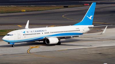 A picture of B5657 - Boeing 73785C - Xiamen Air - © Rex Tsai