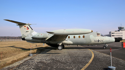 16-26 - MBB HFB-320 Hansa-Jet - Germany - Air Force