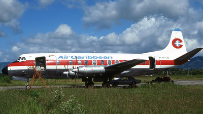 VP-LKA - Vickers viscount 807 - Air Caribbean