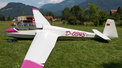 D-0343 - Schleicher ASK-13 - Private