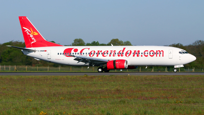 TC-MNM - Boeing 737-4Q8 - Corendon Airlines