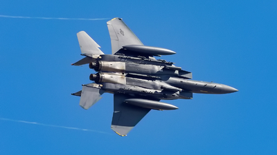 91-0312 - McDonnell Douglas F-15E Strike Eagle - United States - US Air Force (USAF)