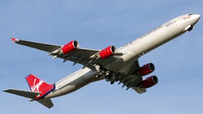 G-VWKD - Airbus A340-642 - Virgin Atlantic Airways