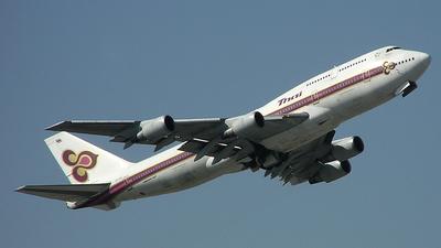 HS-TGE - Boeing 747-3D7 - Thai Airways International