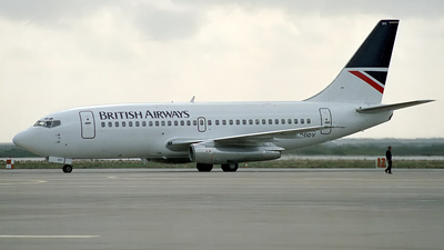 G-DDDV - Boeing 737-2S3(Adv) - British Airways