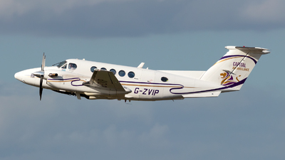 A picture of GZVIP - Beech 200 Super King Air - Capital Air Ambulance - © Julian Azeroth