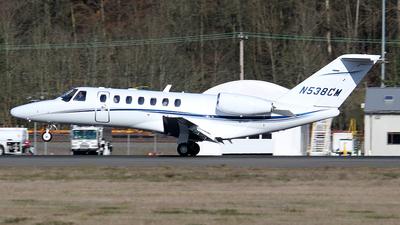 N538CM - Cessna 525 Citationjet CJ3 - Private
